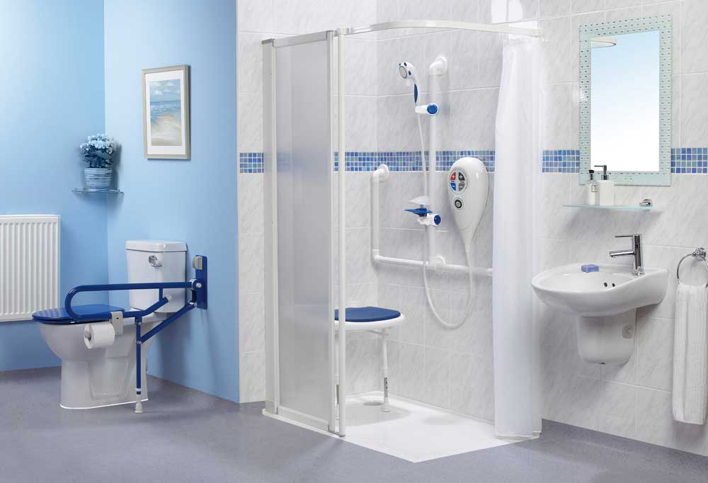 Disabled Shower - Elderly Care Service Ltd