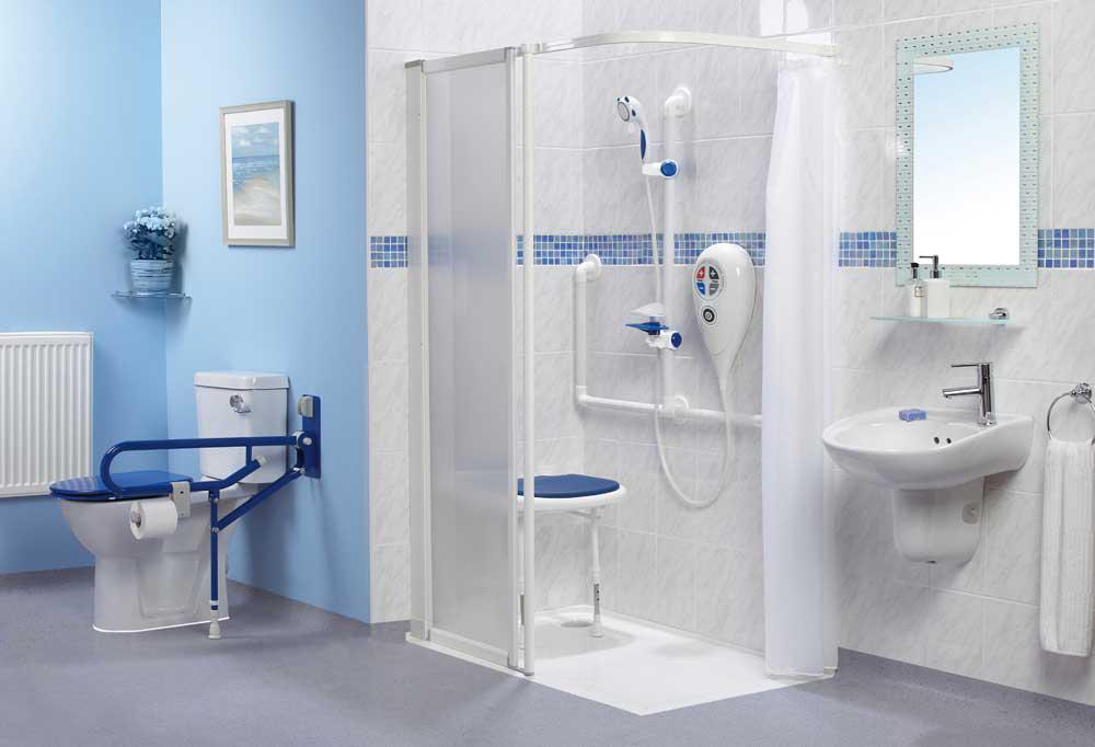 Disabled Shower - Elderly Care Service Ltd